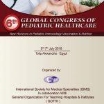 6th Global Congress of Pediatric Healthcare
